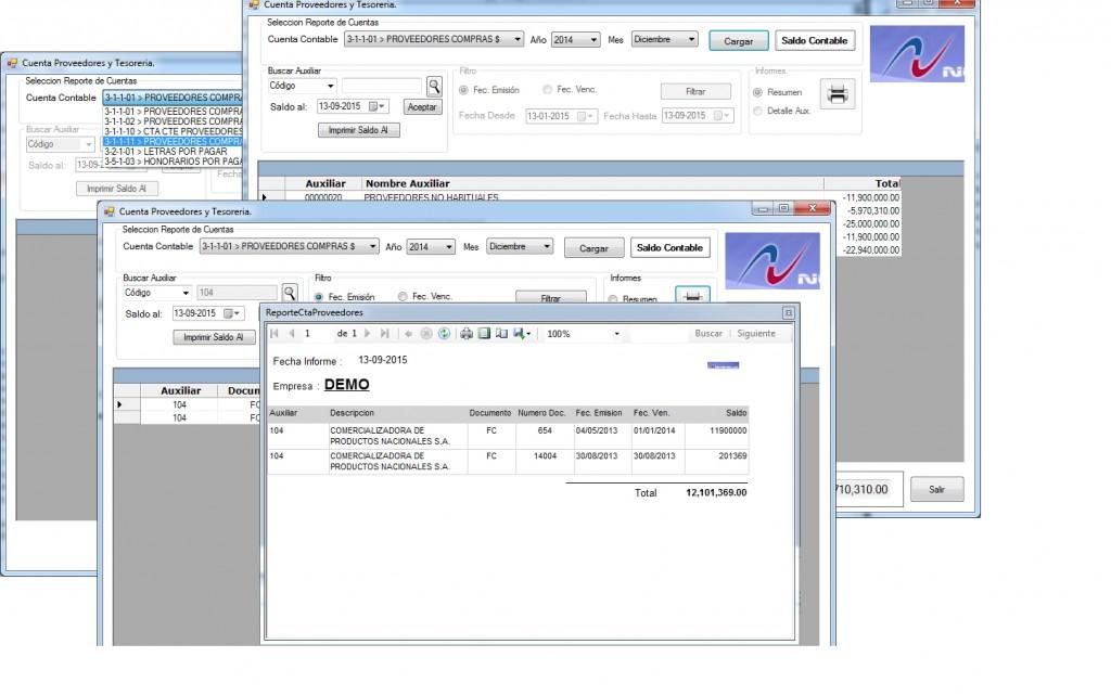desarrollo de informes softland erp consultoria softland erp